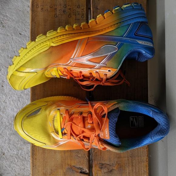 Rainbow Ombre Tiedye Running Shoe